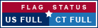 Link to Daily flag status alert information for US and Connecticut State flags flying in Connecticut