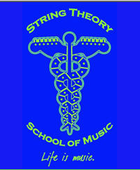 String Theory School of Music Logo