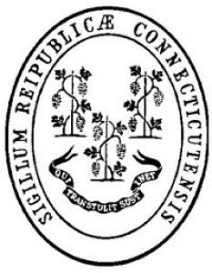 Image result for state seal of CT